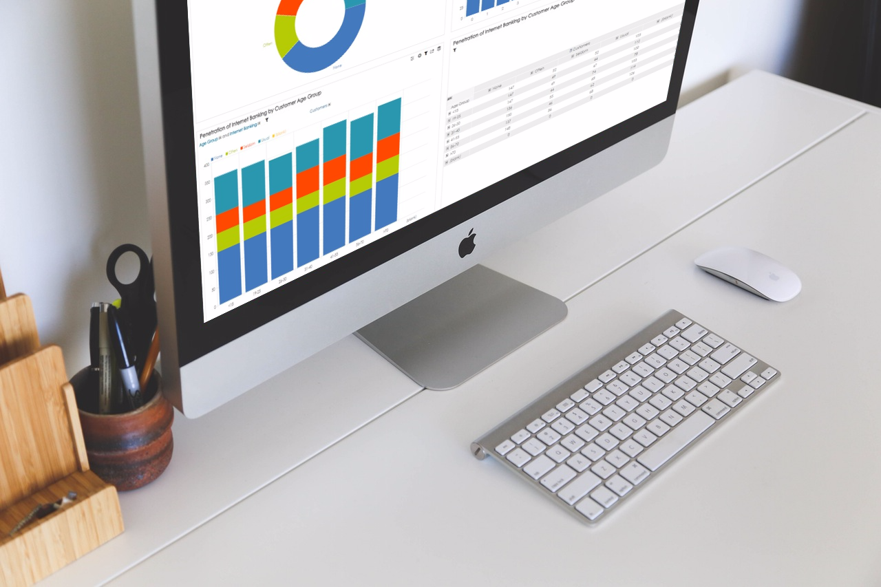 BellaDati Retail Banking Performance Analytics
