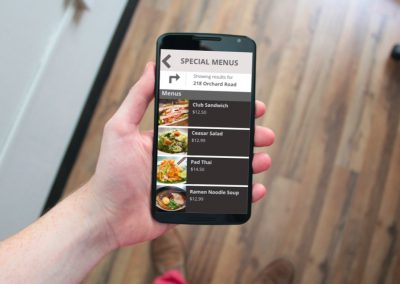BellaDati Android Mobile App – Order and Pay