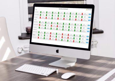 Operational Dashboard for Sensor Monitoring