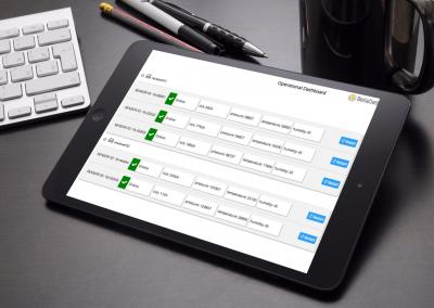 Operational Dashboard for Sensor Auditing